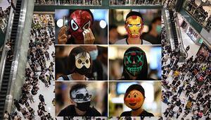 Maskeler takıldı