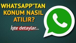 Konum nasıl atılır Android ve iPhoneda WhatsApp'tan konum atma aşamaları