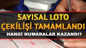 Sayısal Loto 7nci devrini gerçekleştirdi 12 Ekim Milli Piyango  Sayısal Loto çekiliş sonuçları
