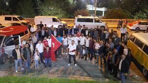 Kağıthanede Barış Pınarı Harekatına konvoylu destek