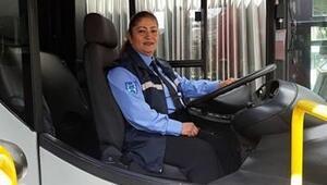 EGO otobüslerine 10 kadın şoför