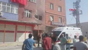 Tel Abyaddan ateşlenen bir roket Akçakalede bir eve isabet etti