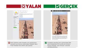 Barış Pınarı Harekatı aleyhine sahte fotoğraflarla manipülasyon yapmak istediler