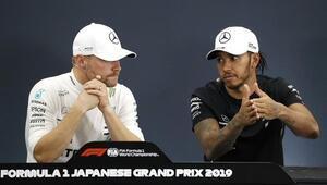 Japonyada zafer Bottasın Mercedes, takımlar klasmanında şampiyon...