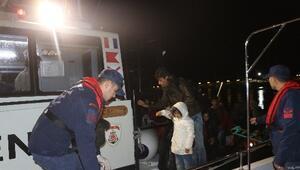 Çanakkale açıklarında 32 göçmen kurtarıldı