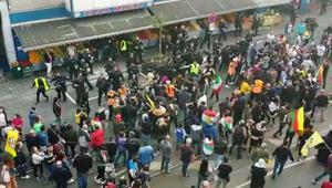 Terör örgütü yanlıları Almanya'da Türk işyeri ve derneklerine saldırıyor