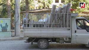 Havan saldırıları nedeniyle Nusaybinde taşınmalar başladı