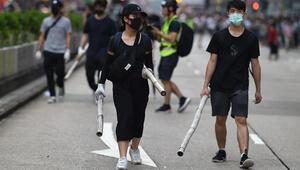 Hong Kongda protestocular taktik değiştirdi