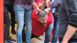İstanbulda şoke eden olay Marketin tuvaletinden böyle çıkarıldı...