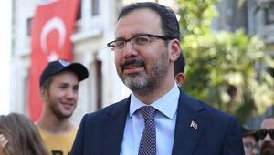 Bakan Kasapoğlundan Ahmet Öndere tebrik