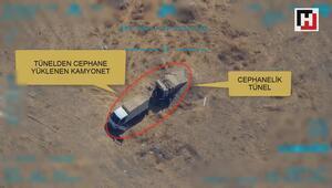 Teröristler mühimmat ikmali yaparken vuruldu
