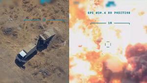 Son dakika: MSB paylaştı Terör hedefleri böyle vuruldu