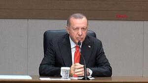 Cumhurbaşkanı Erdoğan'dan Münbiç mesajı