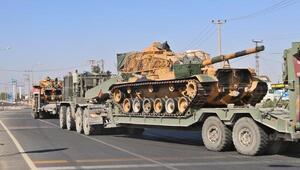 Son Dakika: Suriye sınırına tank sevkiyatı sürüyor