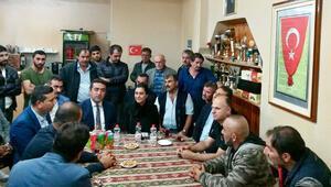 Almanya'da terör örgütü yandaşlarının saldırdığı Türk işçilere ziyaret