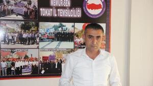 Tokat Memur Sen, Barış Pınarı Harekatı'na destek verdi