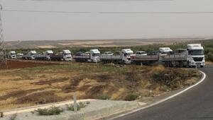 SMO askerlerinin Kilisten Şanlıurfa'ya geçişi sürüyor