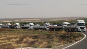 SMO askerlerinin Kilis'ten Şanlıurfa'ya geçişi sürüyor