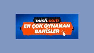 Misli.comda günün en çok oynanan iddaa maçları burada Banko tercihler...