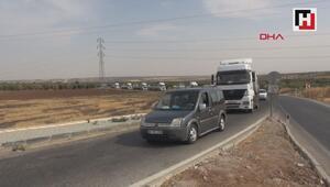 SMO askerlerinin Kilisten Şanlıurfaya geçişi sürüyor