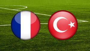 Milli maç saat kaçta Fransa Türkiye maçı hangi kanalda yayınlanacak