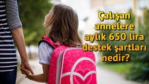 Çalışan annelere aylık 650 lira kreş desteği başvurusu için şartlar nedir