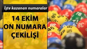 MPİ On Numara çekiliş sonuçlarını açıkladı Milli Piyango On Numara sonuç sorgulama (14 Ekim 2019)