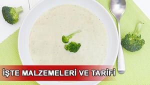 Brokoli çorbası nasıl yapılır Brokoli çorbası tarifi ve hazırlanışı