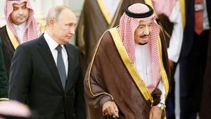 Putin Riyad'a gitti
