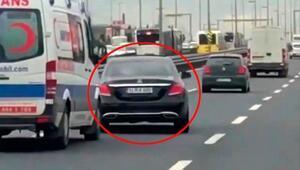Son dakika... Ambulansa yol vermeyen sürücünün cezası belli oldu
