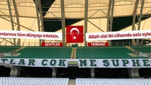 Konyaspordan Şehitler Tribünü kararı