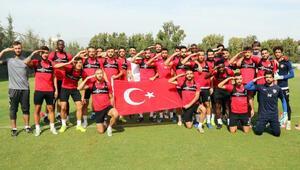 Hataysporda Adana Demirspor maçı hazırlıkları sürüyor