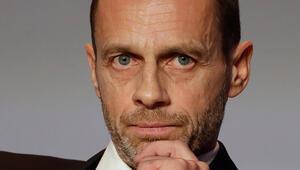 UEFA Başkanı Aleksander Ceferinden uyarı niteliğinde açıklama