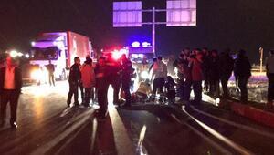 Son Dakika: Otomobil ile çarpışan motosikletteki 2 kişi öldü