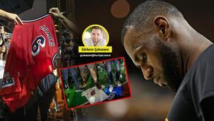 LeBron James protestocuları kızdırdı