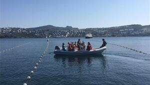 Çamlıdereli öğrenciler Bodrum'da yelken açtı
