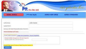 Posta Kodu öğrenme ekranı Ankara, İstanbul, İzmir ve tüm illerin posta kodu