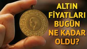 Altın fiyatları bugün yükseldi mi Çeyrek altın ve gram altın fiyatları