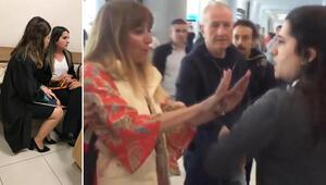 Son dakika: Havalimanında yaptıkları tepki çekmişti Cezası belli oldu