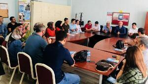 İlçe Milli Eğitim Müdürü Yıldırımın okul ziyaretleri devam ediyor
