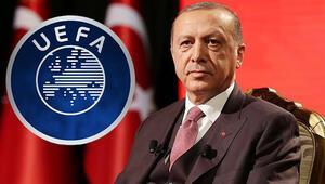 Son Dakika | Cumhurbaşkanı Erdoğandan UEFAnın soruşturma kararıyla ilgili açıklama