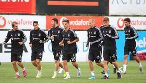 Beşiktaşta MKE Ankaragücü maçı hazırlıkları sürüyor