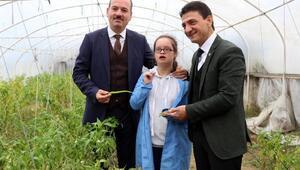 Bakanlık ödüllü Engelsiz Organik Tarım projesi devam ediyor