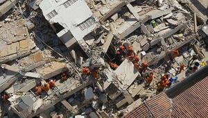 Brezilyada 7 katlı bina çöktü