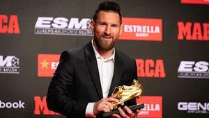 Altın Ayakkabı'nın sahibi Messi 6 oldu...