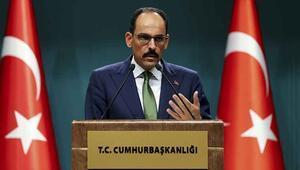 Cumhurbaşkanlığı Sözcüsü Kalın, düzenlediği basın toplantısında açıklamalarda bulundu