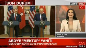 Türkiyeden ABD'ye mektup yanıtı
