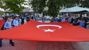 Gölovada, Barış Pınarı Harekatına destek yürüyüşü