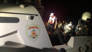 Didim ve Kuşadasında 139 kaçak göçmen yakalandı