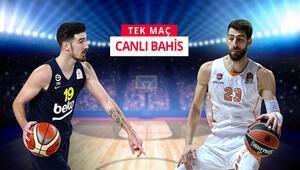 Fenerbahçe Beko, Baskoniayı konuk ediyor iddaada TEK MAÇ, CANLI BAHİS...